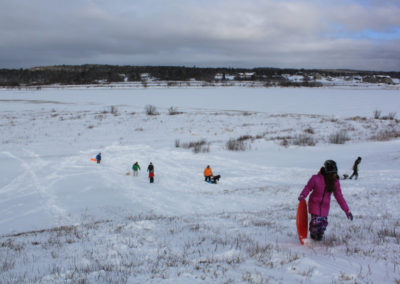 Sledding Hill at Middle River Park
