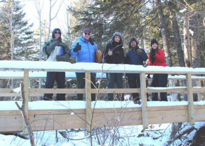 Middle River Park Snowshoe Walk (Tim Moffett)