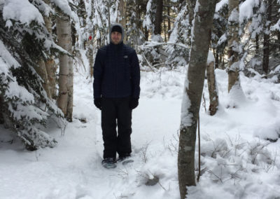 Snowshoeing at Middle River Park