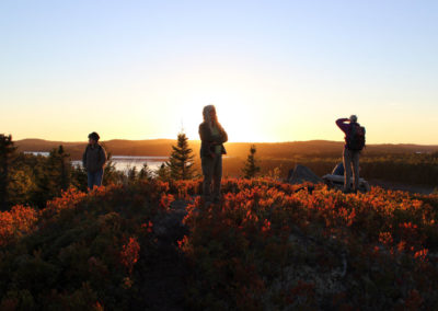 Sunset Hike at Klondike Mountain