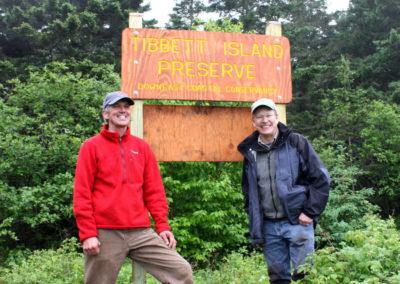 Exploring Tibbet Island